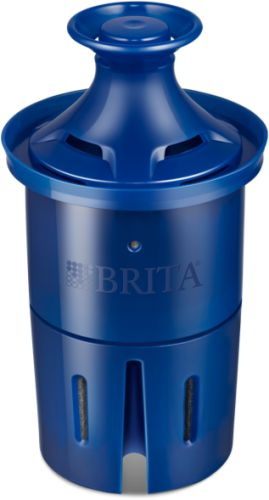The Brita® Longlast™ Filter works 3x longer*, so you can enjoy great-tasting Brita® filtered water for up to six months‡ between filter replacements. It even filters lead†, which can be found in some tap water.