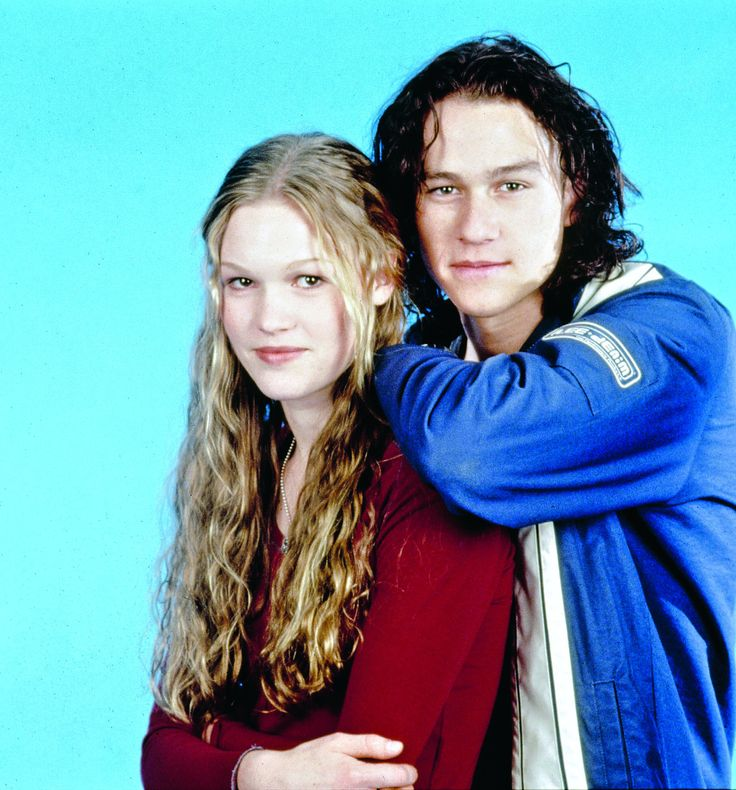 Heath Ledger & Julia Stiles | 10 Things I Hate About You