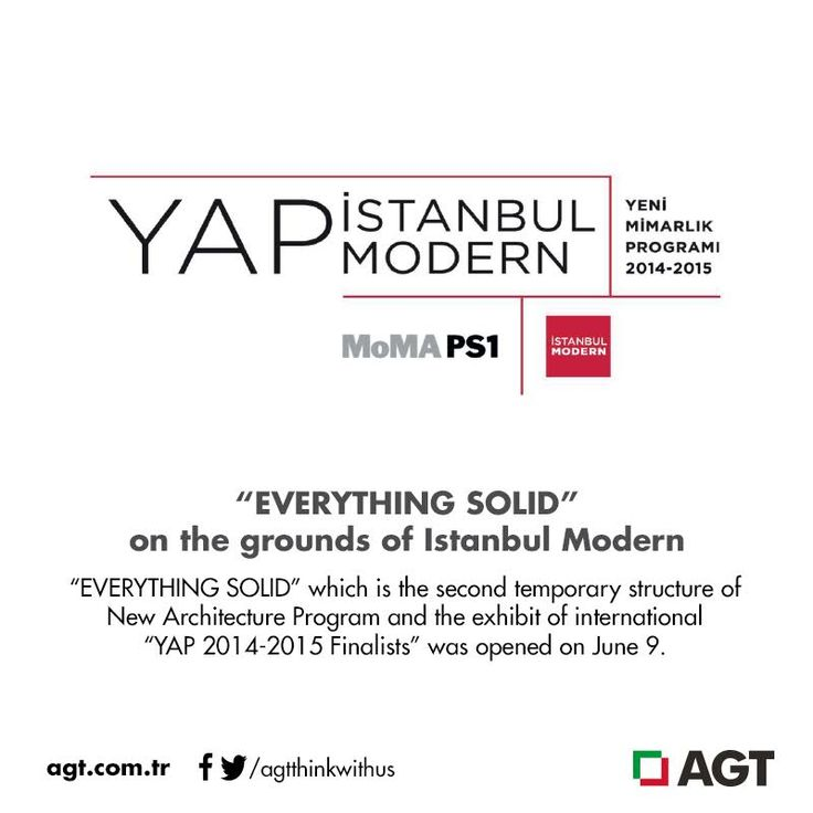"""""""EVERYTHING SOLID"""" on the grounds of Istanbul Modern…    Full article : http://online.fliphtml5.com/psku/vyhm/#p=1"""
