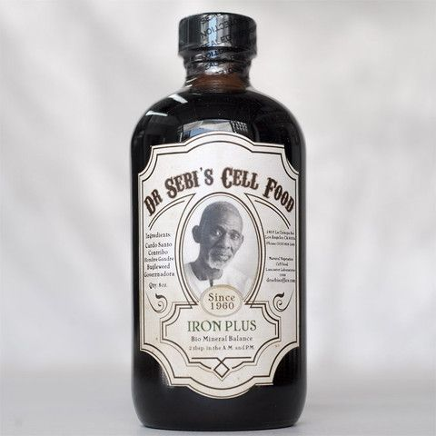 Iron Plus – Dr. Sebi's Cell Food  A Maya-plus mixture offering enhanced iron-rich nourishment for the blood, brain and central nervous system. A pro-biotic designed to fight inflammation, purify and strengthen the entire system.