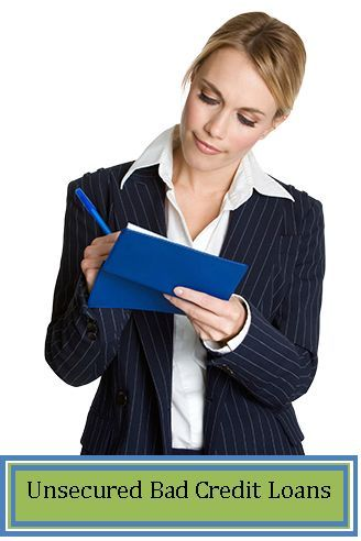 Unsecured Bad Credit Signature Loans