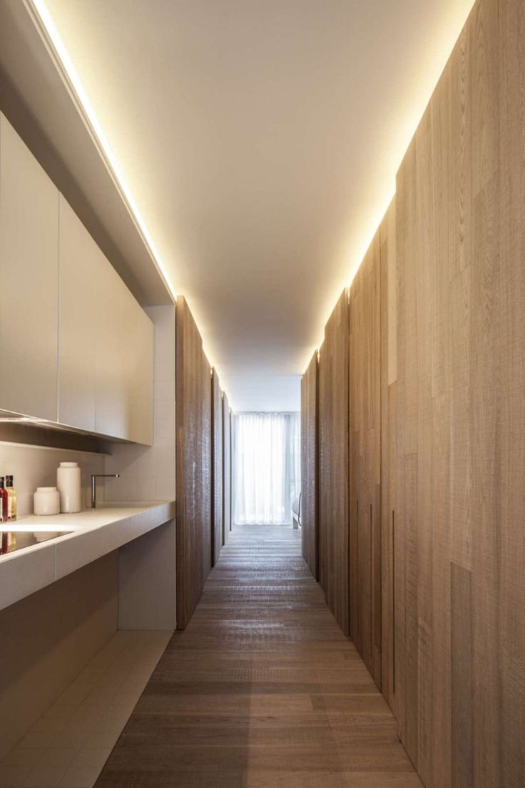 Loft MM shot by Tim van de Velde Photography. Great idea for kitchen and  hallway - top lighting