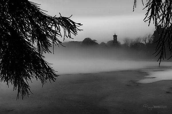 Moody Perthshire scene