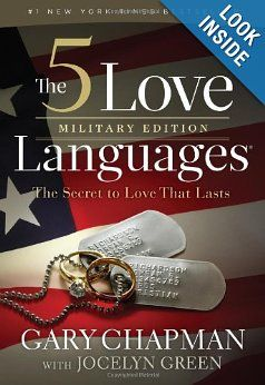 Amazon.com: The 5 Love Languages Military Edition: The Secret to Love That Lasts (9780802407696): Gary D Chapman, Jocelyn Green: Books