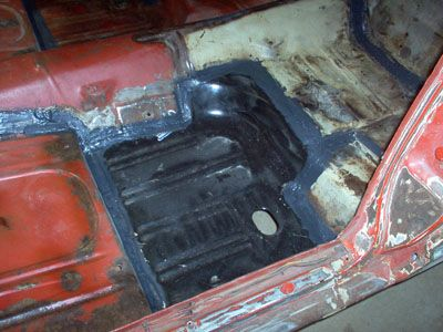Classic Car Floor Pan Replacement Mustang Interior Auto