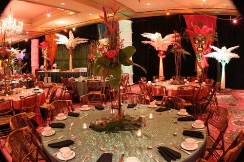 Africa Theme | African Theme Decor 300x199 Corporate Theme Parties: Fun Or  Cheesy? |