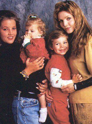 -Lisa Marie, and her children. - lisa-marie-presley Photo
