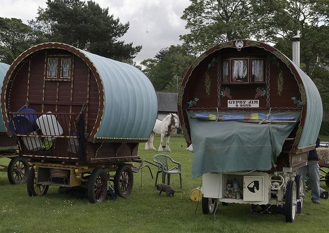 Enjoy the Romance of a Nomadic Lifestyle with a Caravan Holiday. Oh my god, I get to be a Gypsy? Hell yes!