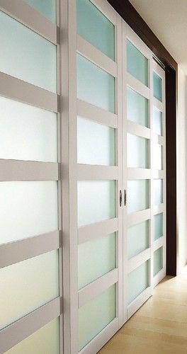 Exit 04 Sliding Door modern interior doors; found thru link on houzz; room divider