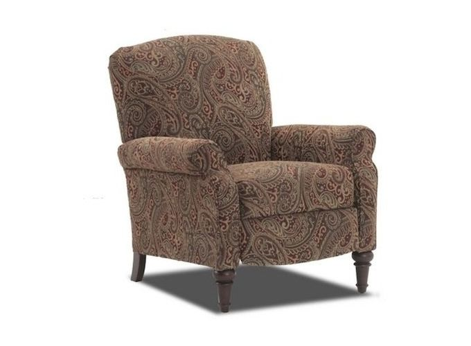Transitional High Leg Recliner At Park Stores