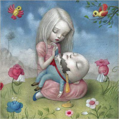 Papierdier - Nicoletta Ceccoli - Too fragile - Alice in Wonderland