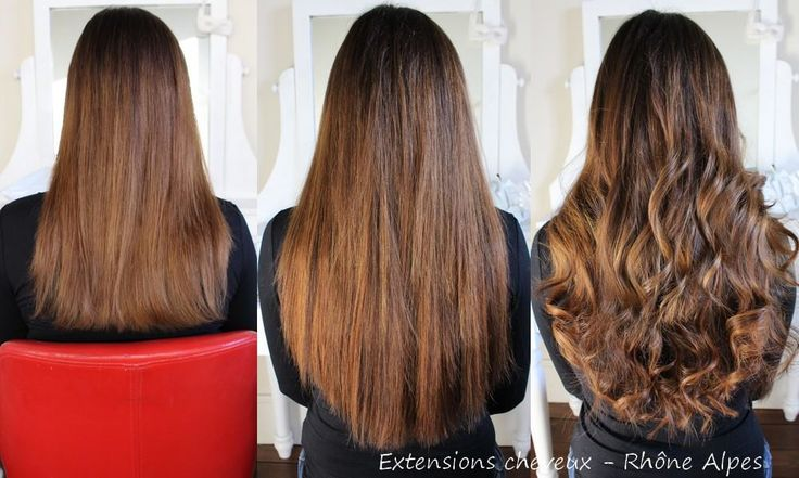 160 extensions de cheveux EXTIFF 50m pose à froid 100% naturelles couleur 2 et 6