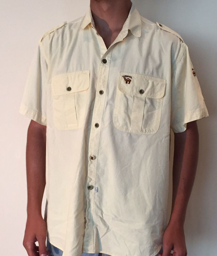 A personal favorite from my Etsy shop https://www.etsy.com/ca/listing/473489661/vintage-joe-camel-button-up-100-cotton