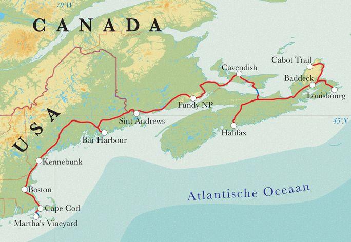 Rondreis Oostkust Canada & New England (VS), 20 dagen | Djoser