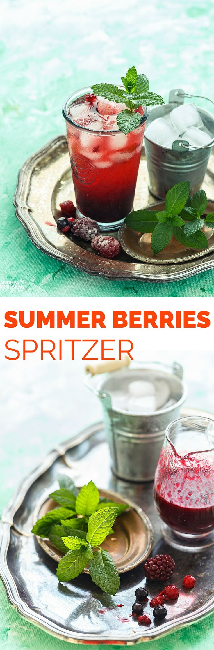 Grab a Bag of Frozen Mixed Berries and enjoy a Summer Berries Spritzer anytime of the year in a jiffy.