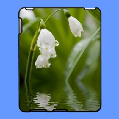 lilly of the valey iPad cover