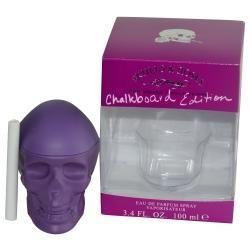 Ed Hardy Skulls & Roses By Christian Audigier Eau De Parfum Spray 3.4 Oz (chalkboard Edition)