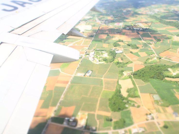 宮古島飛行機から