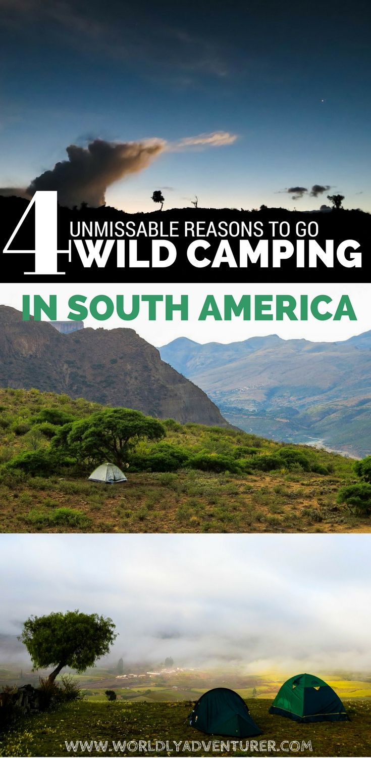 South America is home to often unexplored, and always arresting, countryside. Find out why you should be wild camping in South America, exploring this continent with only a tent and a rucksack for company.