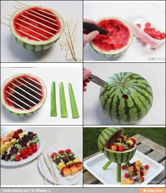 Great outdoor picnic idea