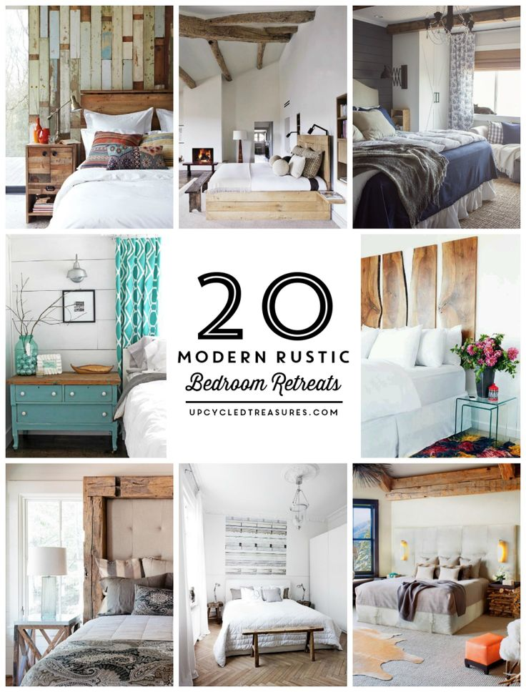 25+ best ideas about Rustic bedroom design on Pinterest