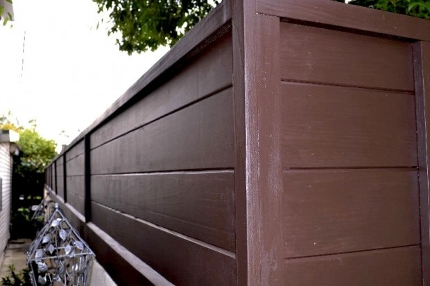 Interesting product: tongue and groove redwood boards.