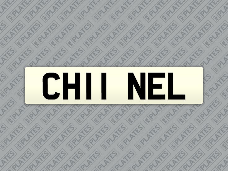 My CH11 NEL number plates are for sale on MrPlates.