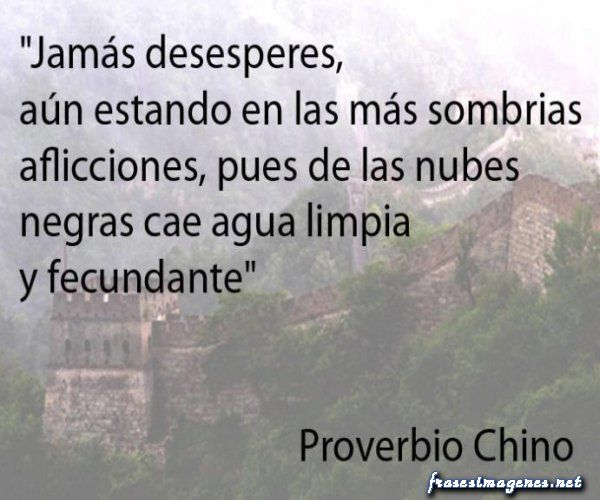 proverbios chinos #Frases