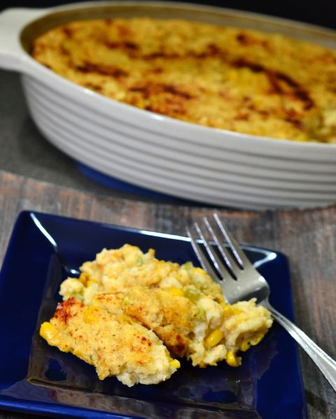 Corn Casserole - A Retro Recipe from The Foodie Army Wife