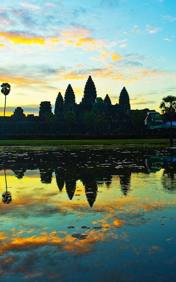 #Angkor_Wat #cambodia