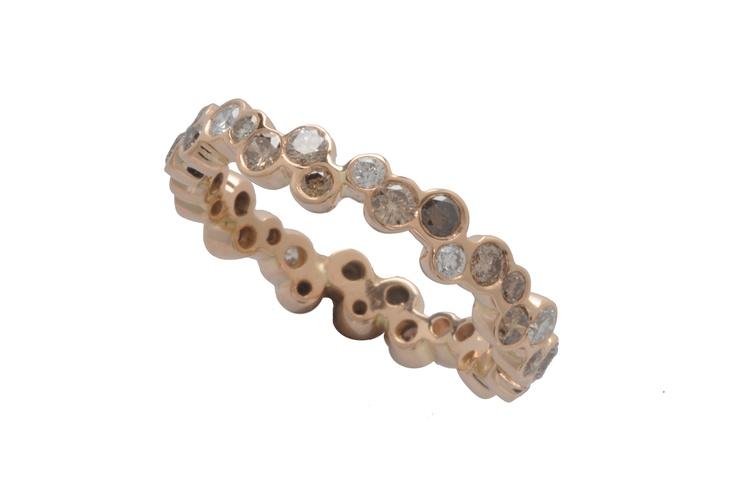 rose gold eternity ring  http://www.topiaryandashe.com/