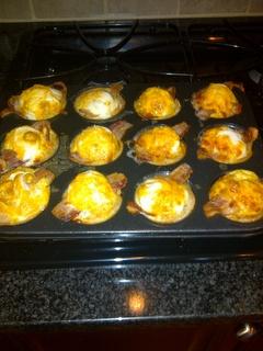 Cheesy Egg Muffins-- Easy, Fun Breakfast | breakfast | Pinterest