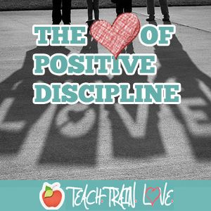 The 101 Positive Principles of Discipline. So many good principles for both teachers and parents! Definitely printing this and keeping it close on hand!