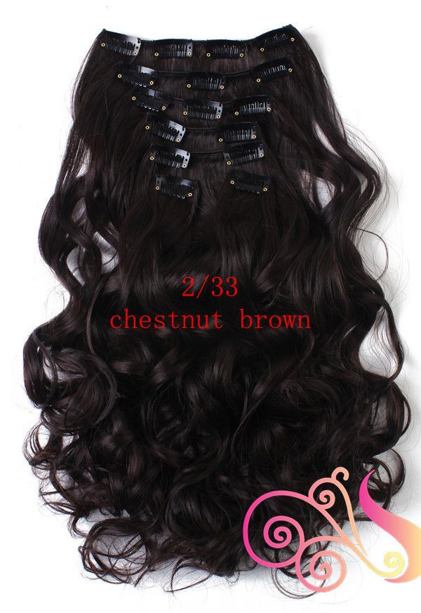 Wavy Real Hair Extensions 11