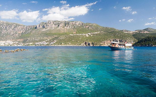 Travel Inspiration for Turkey - The clear waters near Kas make for excellent sailing and watersports