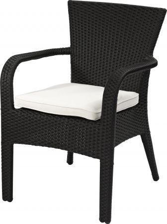 terrassenstuhl piazza segrass schwarz terrassenst hle outdoor st hle gastronomie pinterest. Black Bedroom Furniture Sets. Home Design Ideas