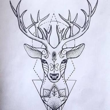 Resultado de imagem para tatuagem de cervo significado