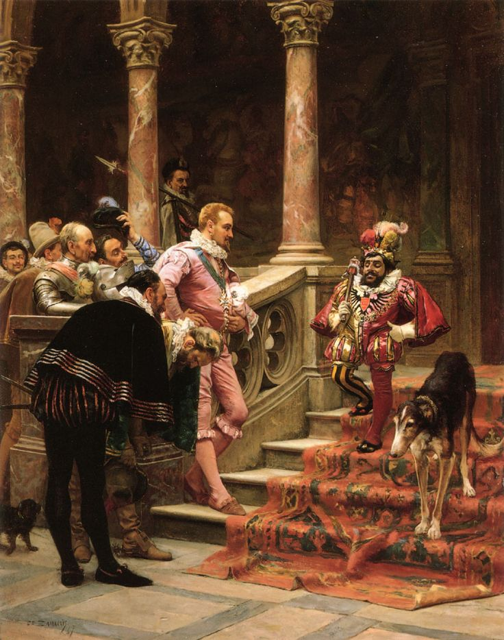 Zamacois y Zabala, Edouardo (1841-1871) - 1867  The Favorite of the King