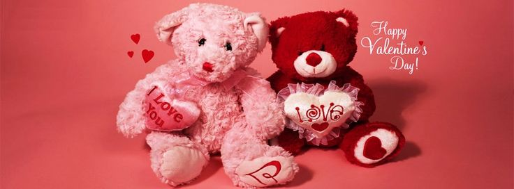 Romantic Happy Teddy Bear Day Cover Photos Facebook and FB