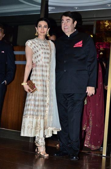 Karisma Kapoor in Anita Dongre