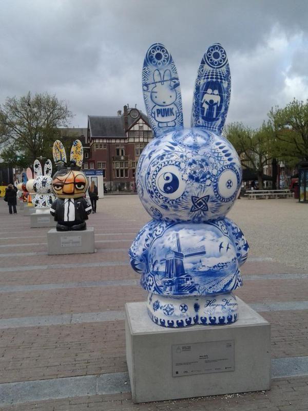 #Miffy #Nijntje Art Parade @ Museumplein / Museum Square in #Amsterdam, 2015