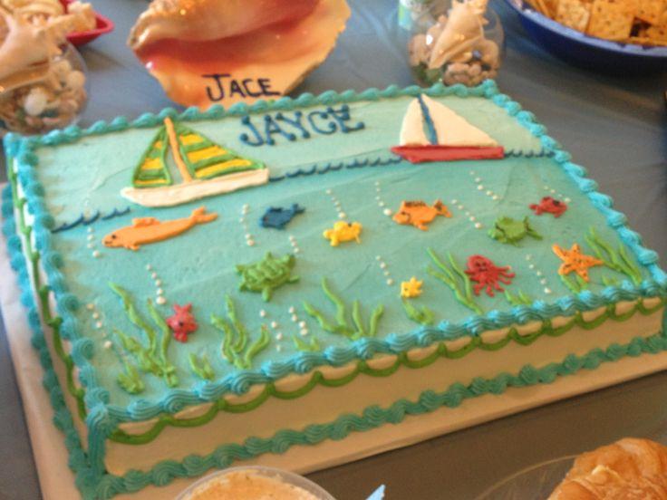 Ocean Birthday Cake Ideas