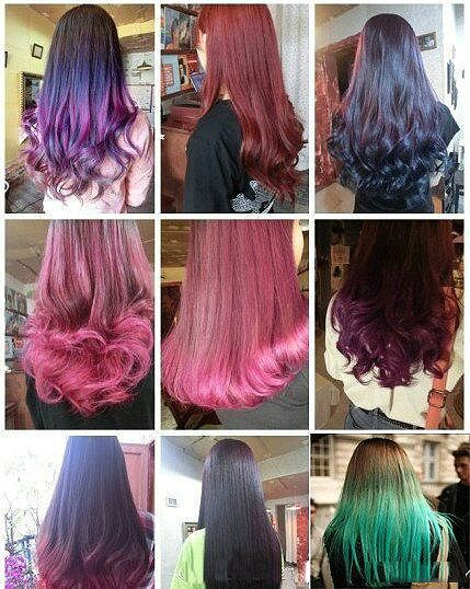 hair color: different hair styles  Hair and Beauty  Pinterest