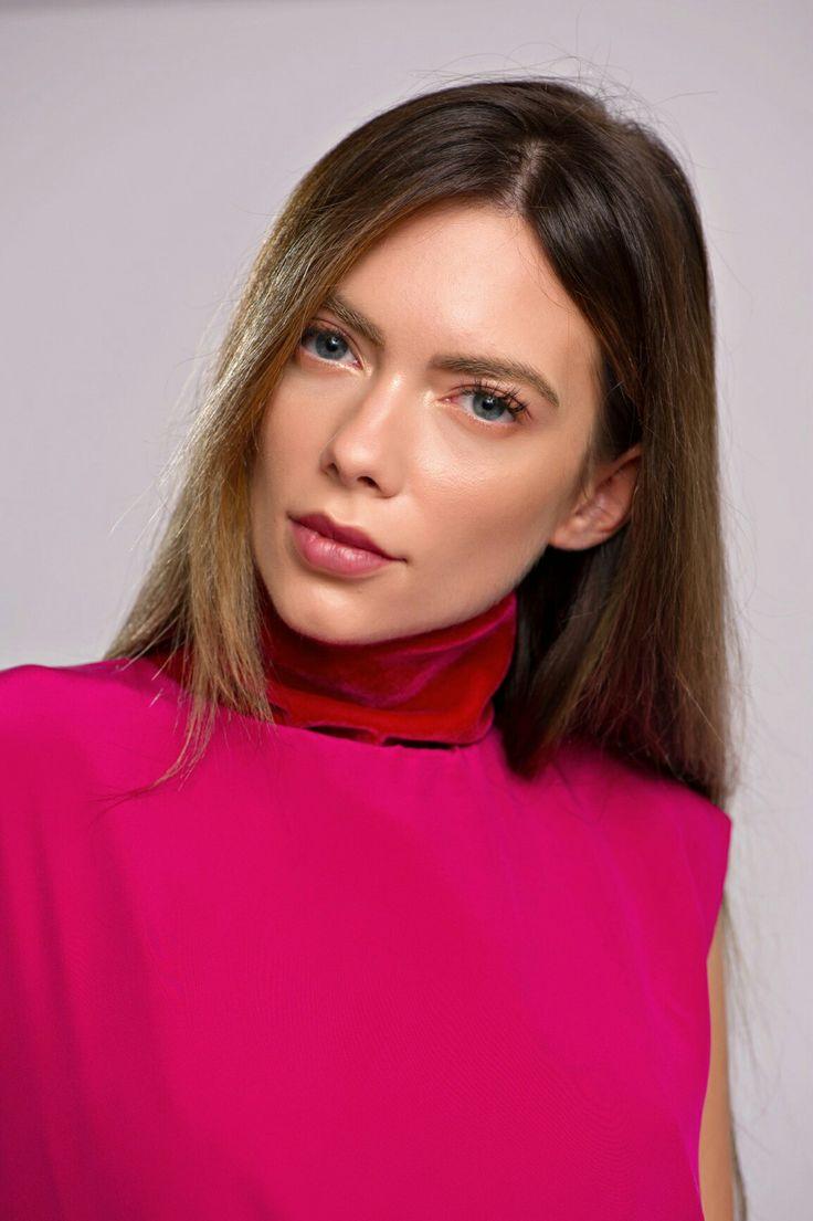 Magenta Silk Velvet Mini Dress  #Magenta #Silk #SilkVelvet Mini #Dress
