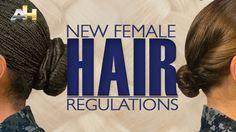 Navy grooming standards and regulations for women have changed recently. Visit this link to experience this interactive page that provides examples for short and long hair.   You can click on each hairstyle for a 360° view and more information on standards. #AmericasNavy #USNavy #Navy navy.com
