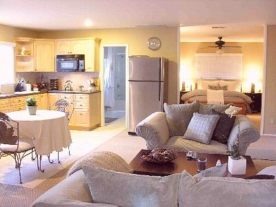 small apartment open floor plan - Google Search   Small House ...