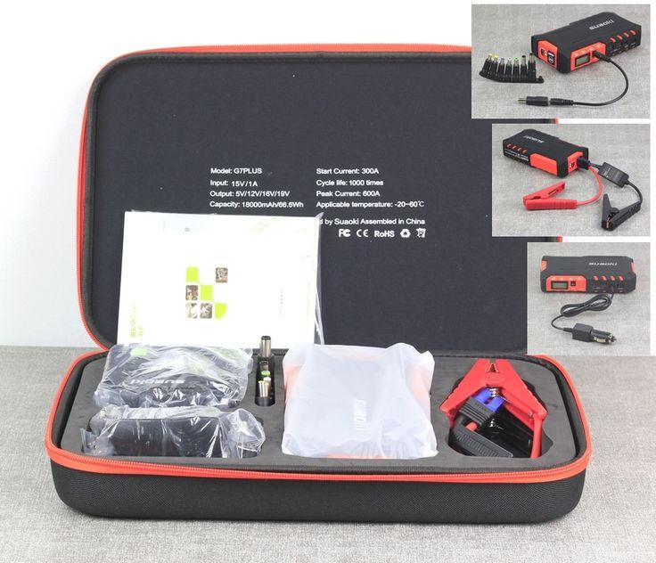 La valise Suaoki est un véritable outil de dépannage qui va vous être d'une grande aide aussi bien pour votre voiture, moto, smartphone, etc... charlie vous présente