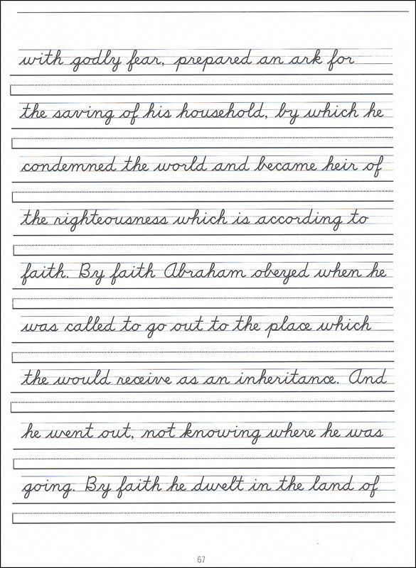 Scripture Character Writing Worksheets D'Nealian Advanced Cursive  Additional Pho… Cursive Writing Worksheets, Cursive Handwriting Worksheets,  Cursive Worksheets