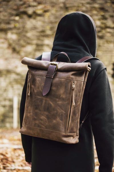 Highway Backpack (Brown)