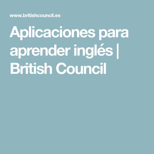 Aplicaciones para aprender inglés   British Council
